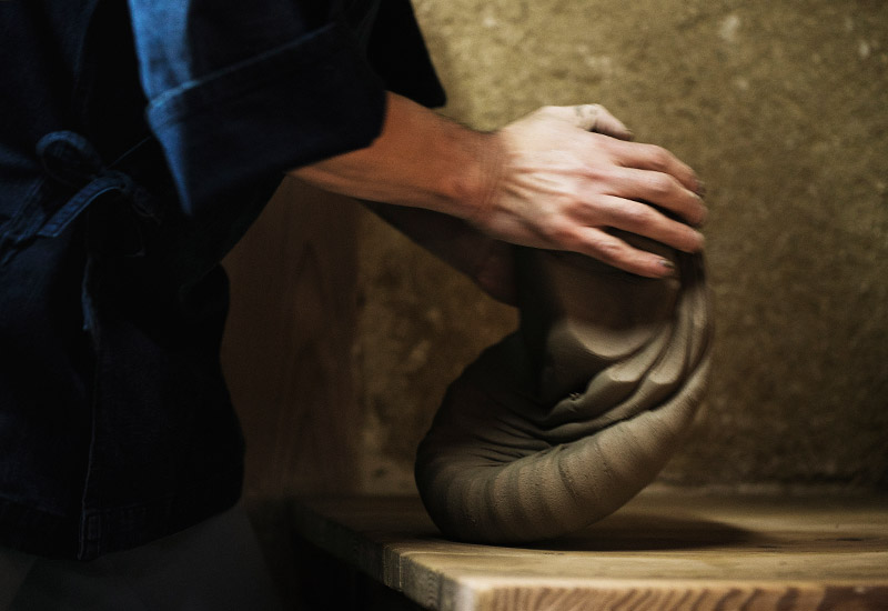 三代受け継がれる、京焼民藝